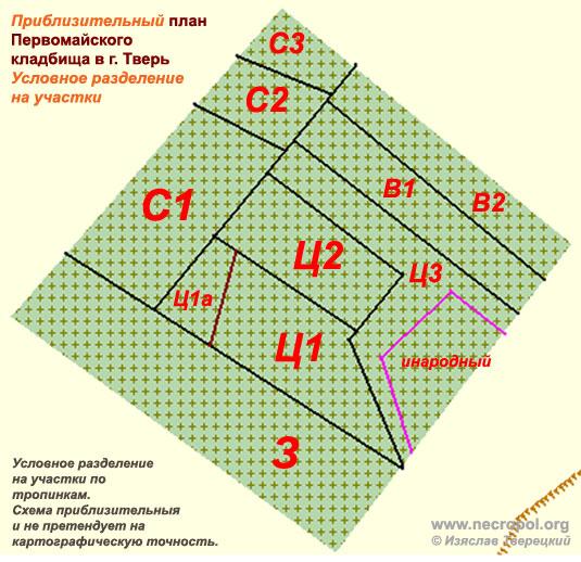Схема разделения Первомайского